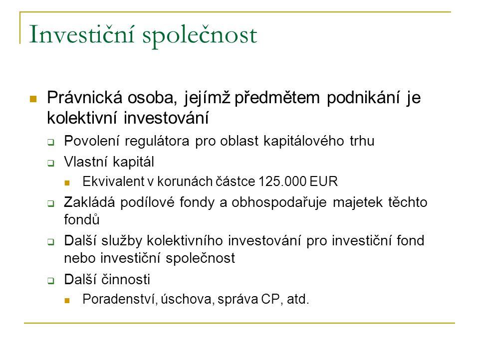 Investiční společnost