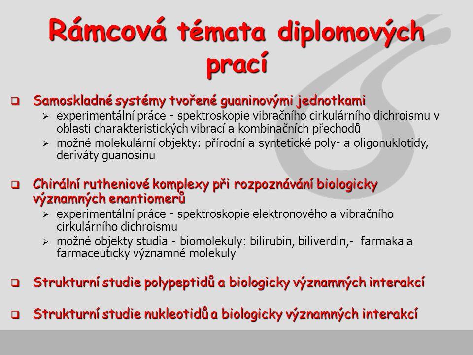 Rámcová témata diplomových prací