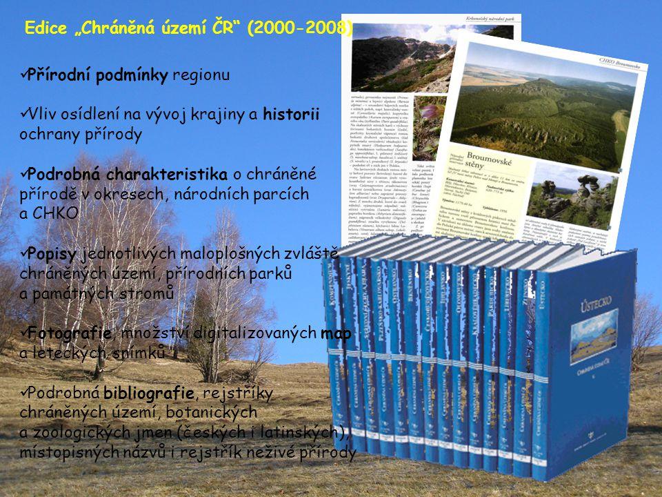 """Edice """"Chráněná území ČR (2000-2008)"""