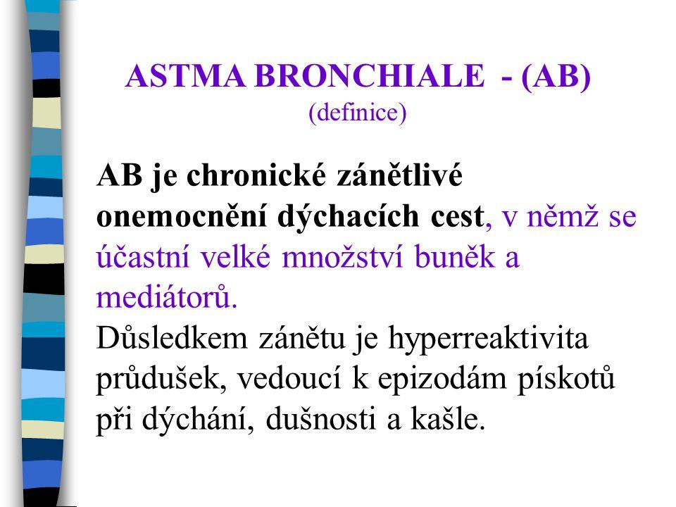 ASTMA BRONCHIALE - (AB)