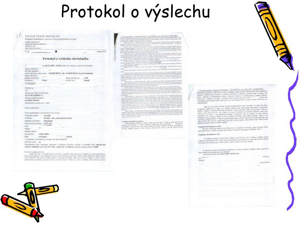 Protokol o výslechu