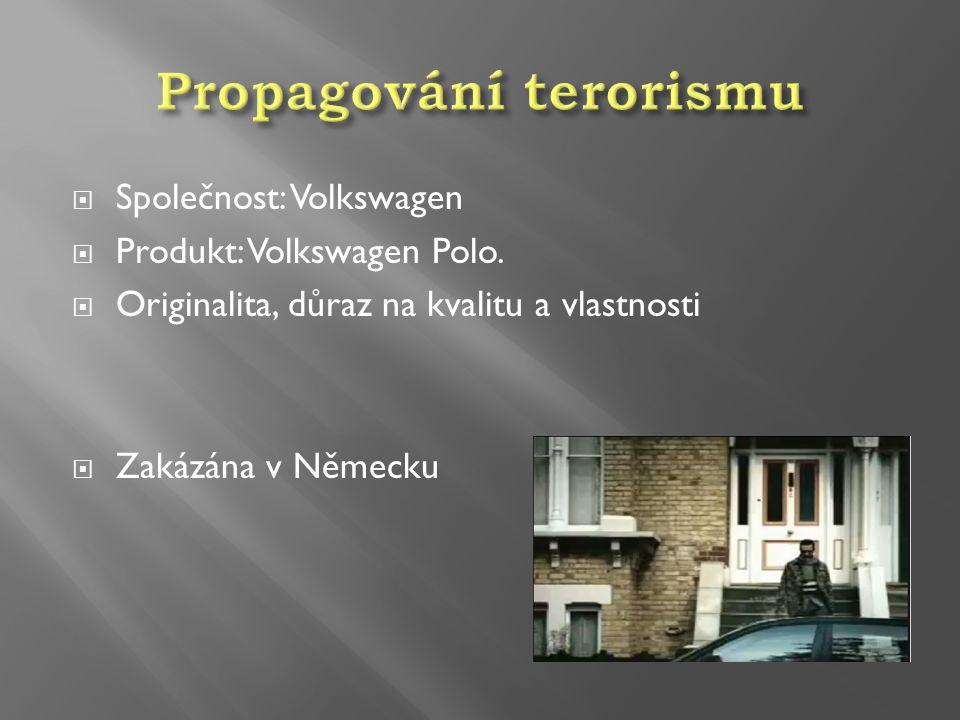 Propagování terorismu