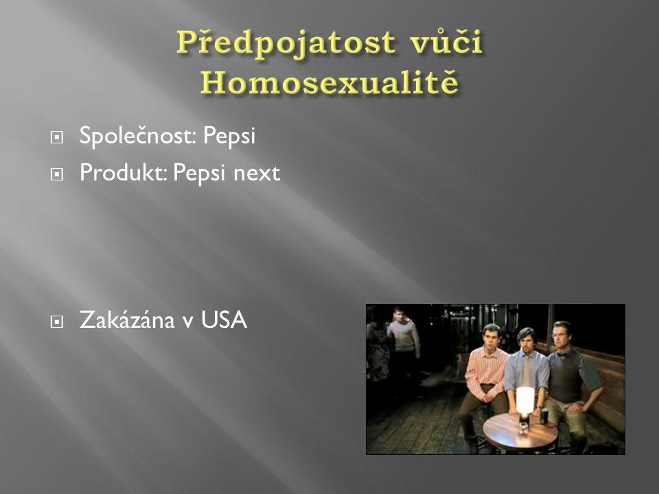 Předpojatost vůči Homosexualitě