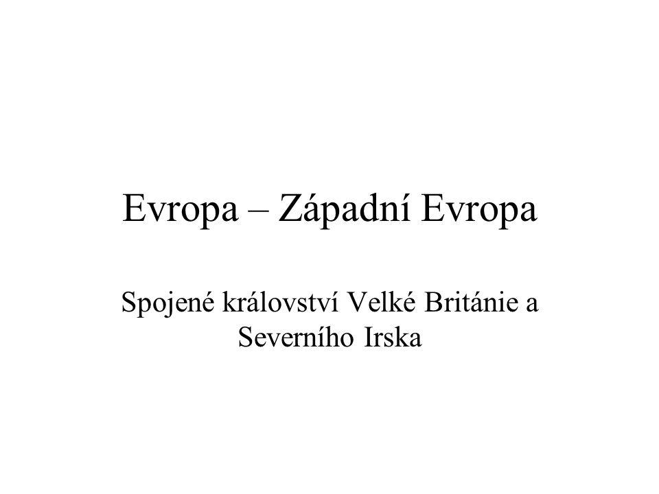 Evropa – Západní Evropa