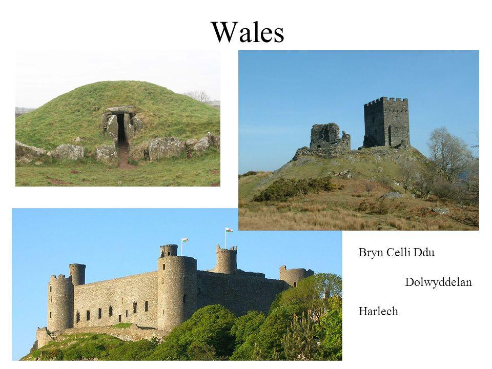 Wales Bryn Celli Ddu Dolwyddelan Harlech