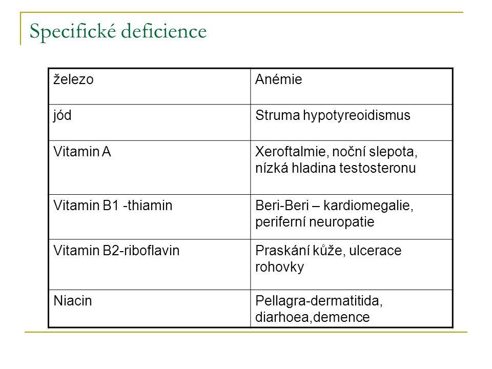 Specifické deficience