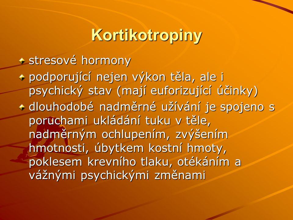 Kortikotropiny stresové hormony