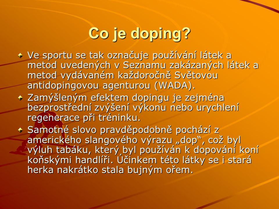 Co je doping