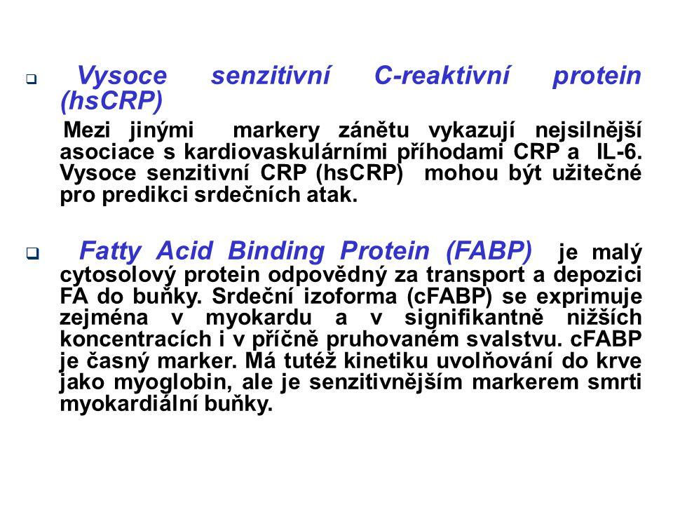 Vysoce senzitivní C-reaktivní protein (hsCRP)