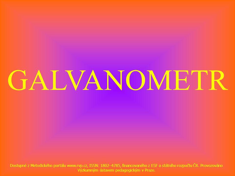 GALVANOMETR