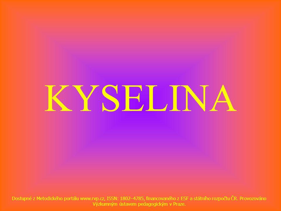 KYSELINA
