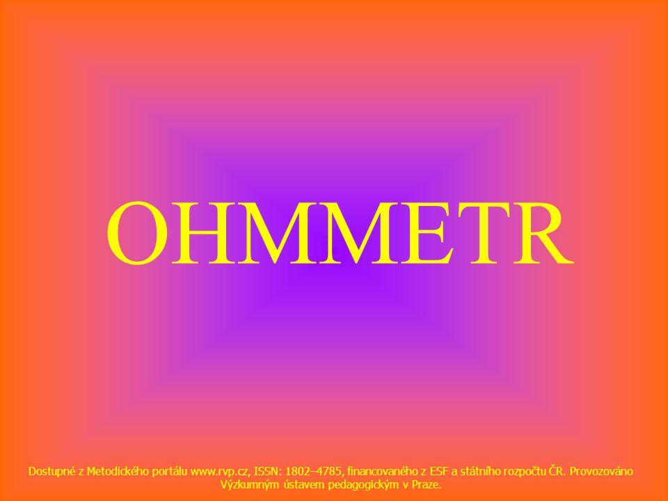 OHMMETR