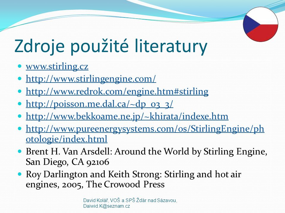 Zdroje použité literatury