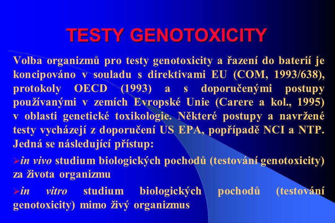TESTY GENOTOXICITY