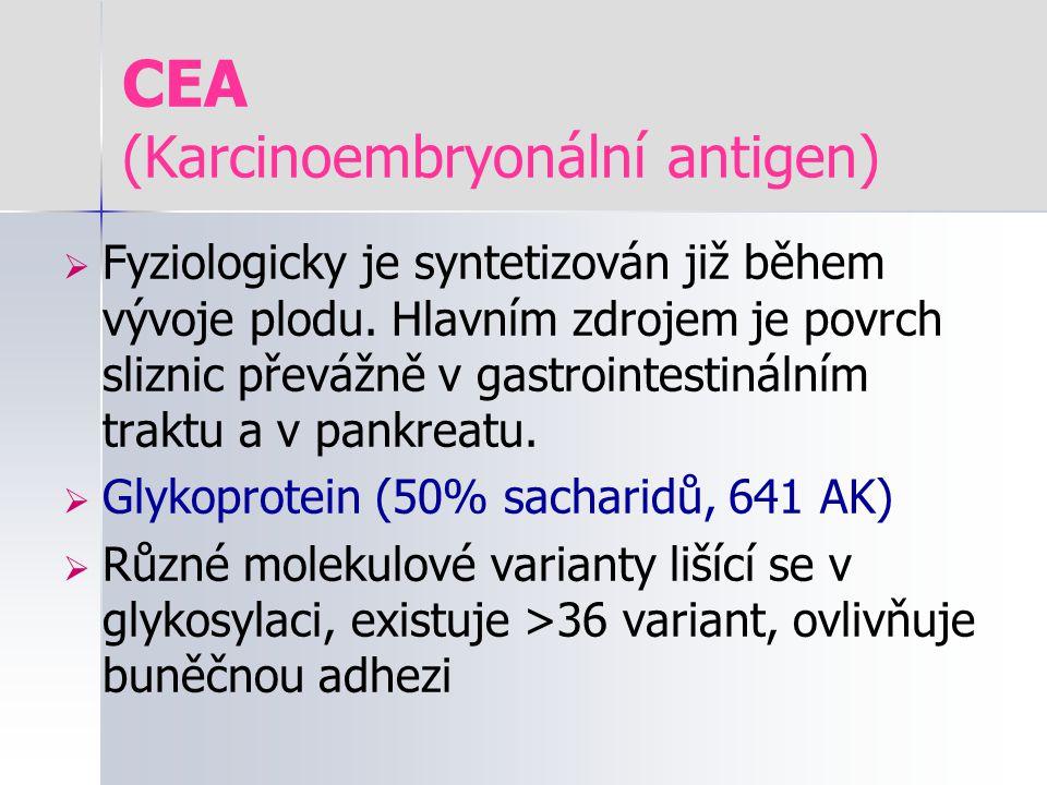CEA (Karcinoembryonální antigen)