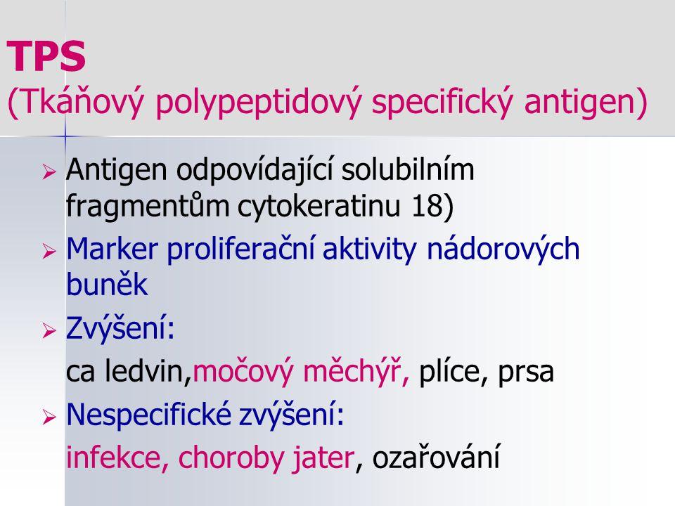 TPS (Tkáňový polypeptidový specifický antigen)