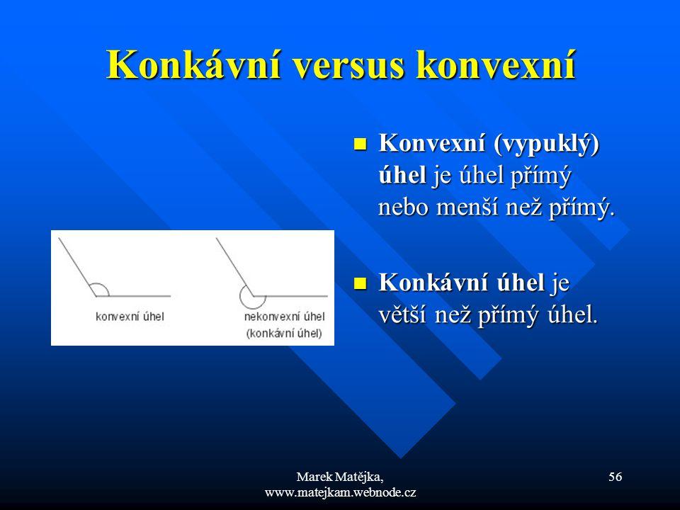 Konkávní versus konvexní