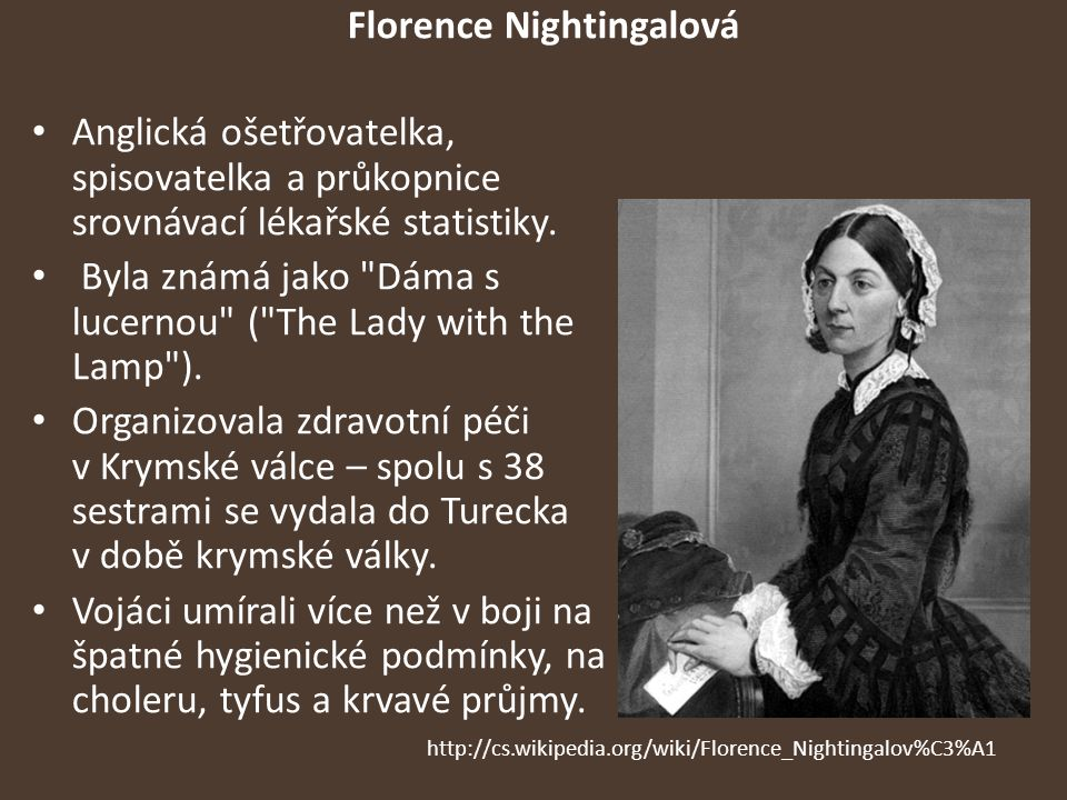 Florence Nightingalová