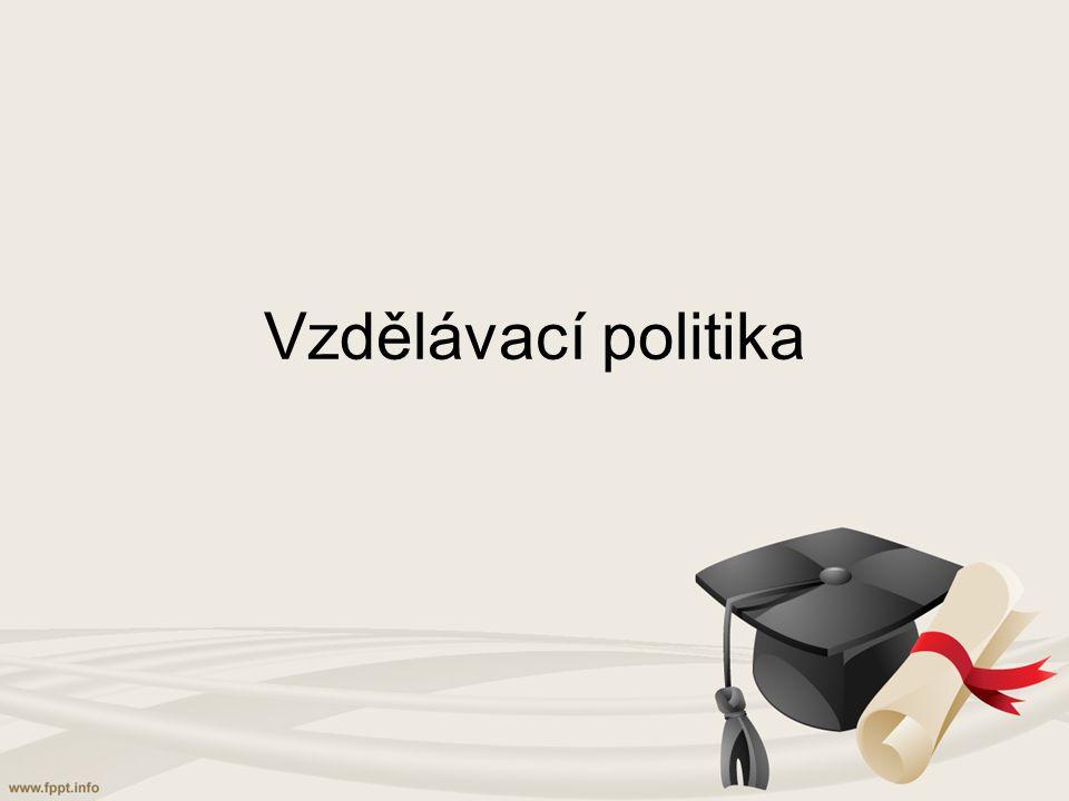Vzdělávací politika