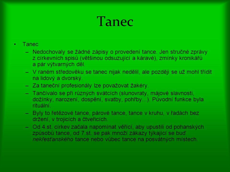 Tanec Tanec.