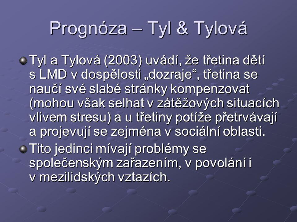 Prognóza – Tyl & Tylová