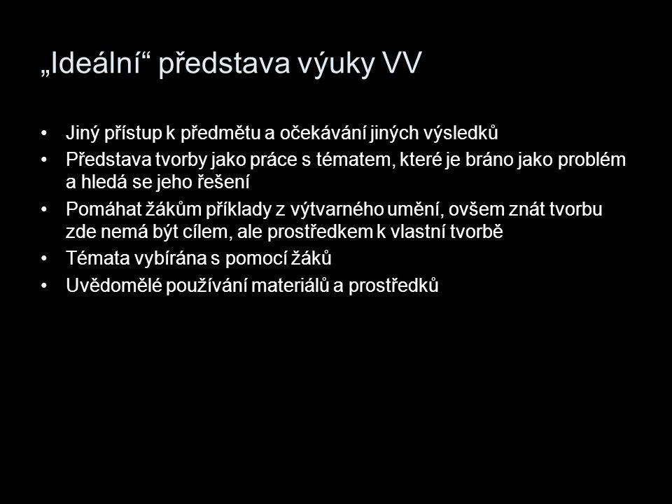 """""""Ideální představa výuky VV"""