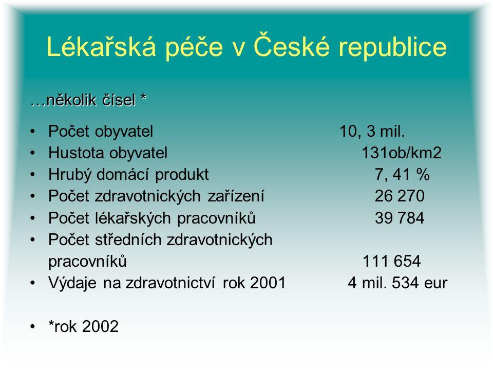 Lékařská péče v České republice