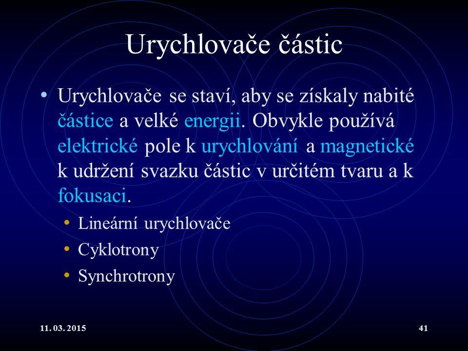 Urychlovače částic