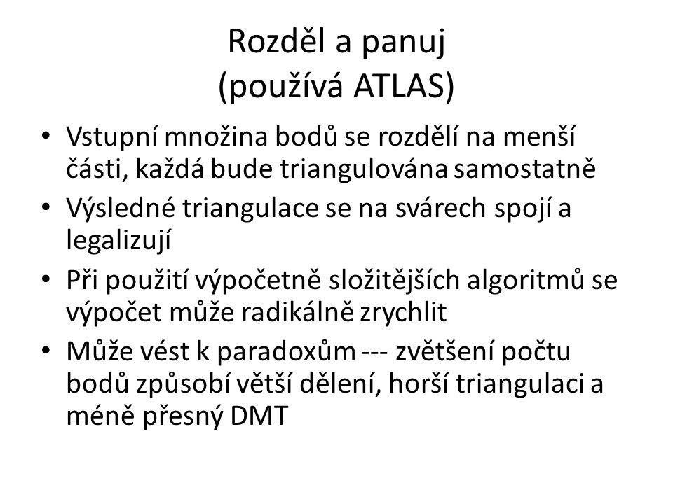 Rozděl a panuj (používá ATLAS)