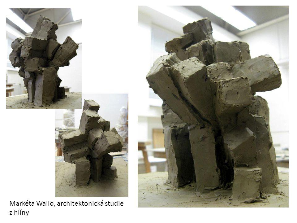 Markéta Wallo, architektonická studie z hlíny