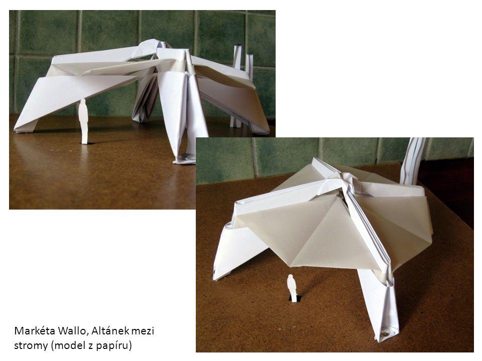 Markéta Wallo, Altánek mezi stromy (model z papíru)