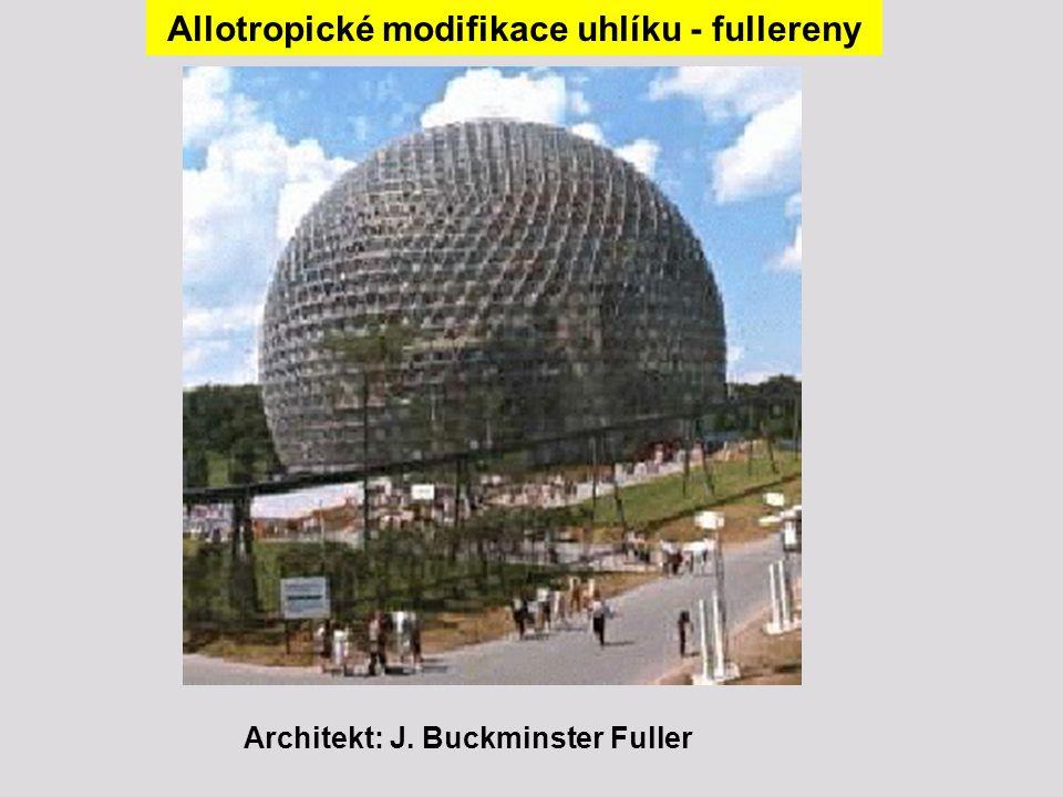 Allotropické modifikace uhlíku - fullereny