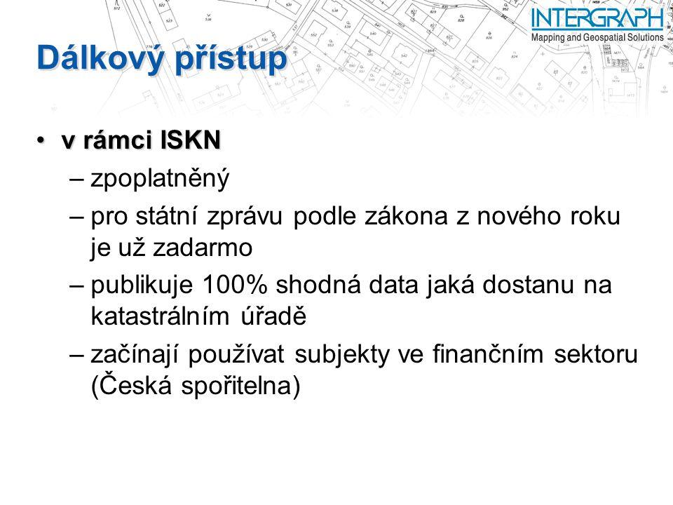 Dálkový přístup v rámci ISKN zpoplatněný