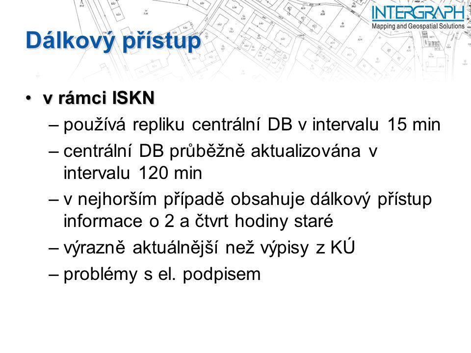 Dálkový přístup v rámci ISKN