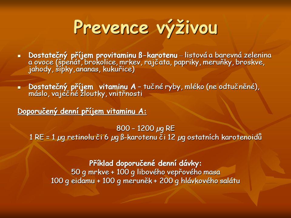 Prevence výživou