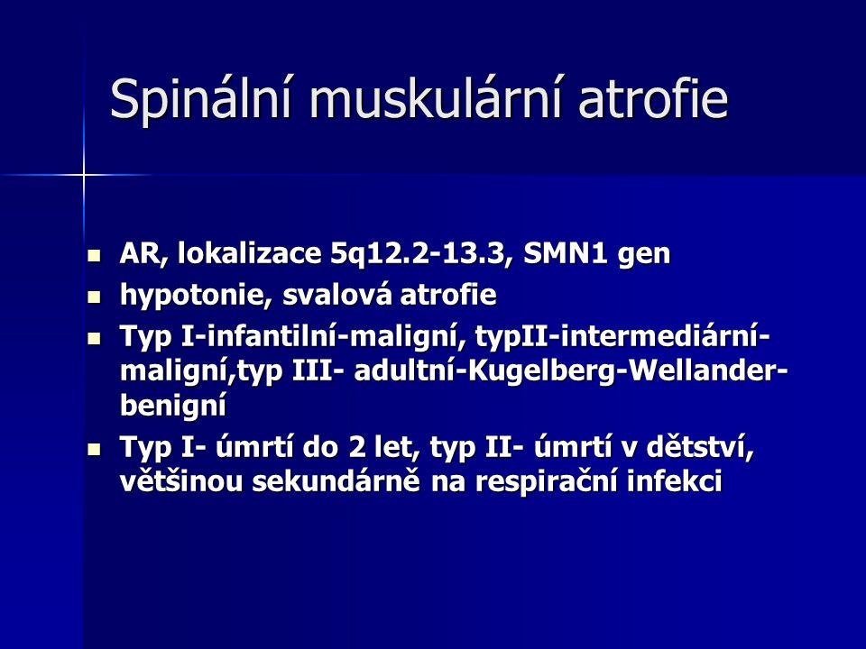 Spinální muskulární atrofie