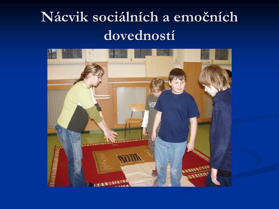 Nácvik sociálních a emočních dovedností