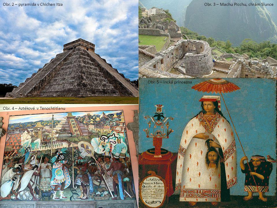 Obr. 2 – pyramida v Chichen Itza