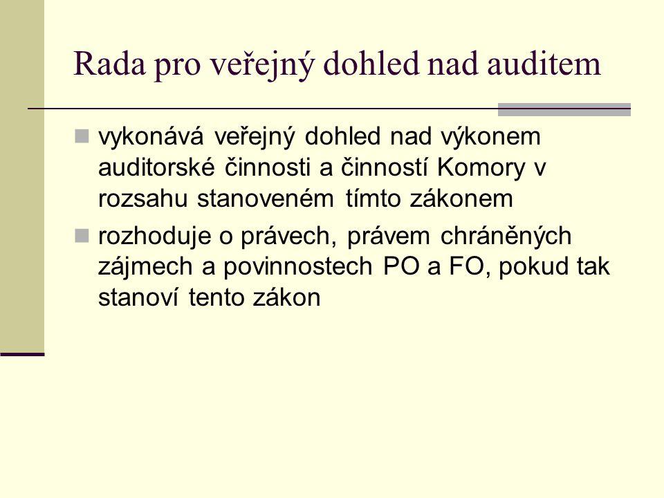 Rada pro veřejný dohled nad auditem