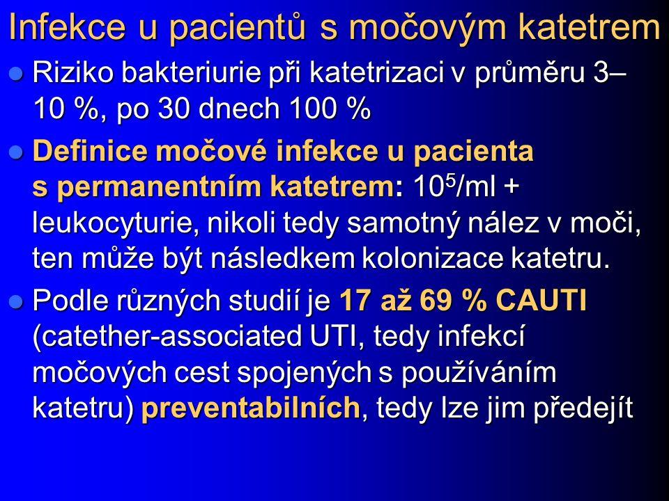 Infekce u pacientů s močovým katetrem