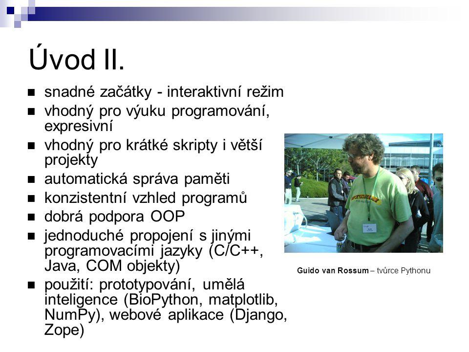 Guido van Rossum – tvůrce Pythonu