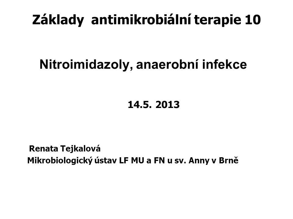 Základy antimikrobiální terapie 10