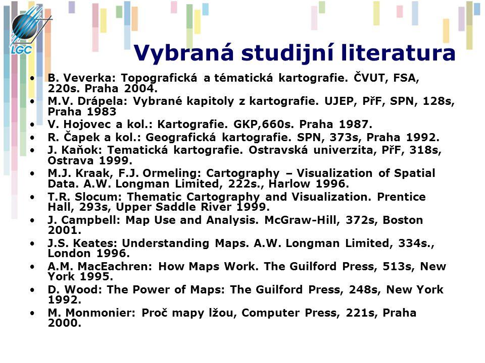 Vybraná studijní literatura