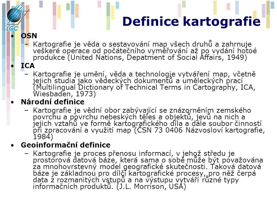 Definice kartografie OSN