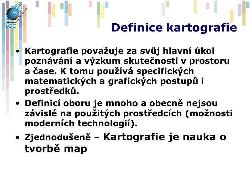 Definice kartografie