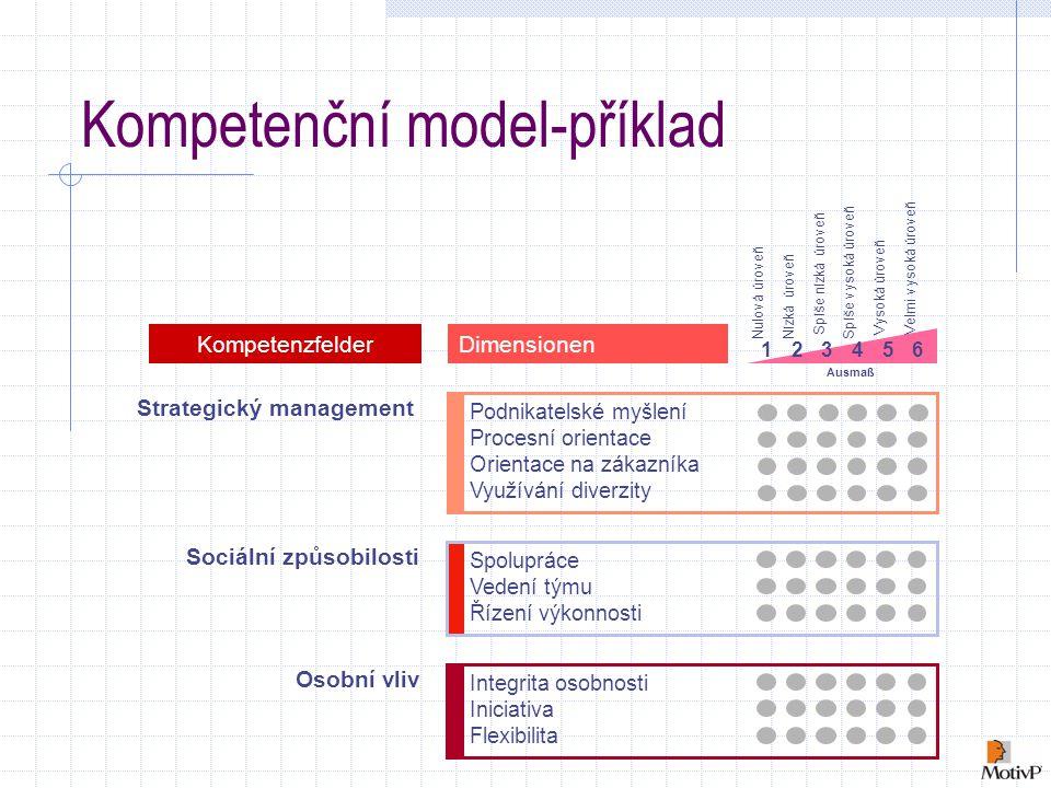 Kompetenční model-příklad