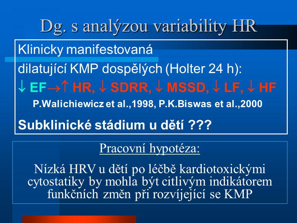 Dg. s analýzou variability HR