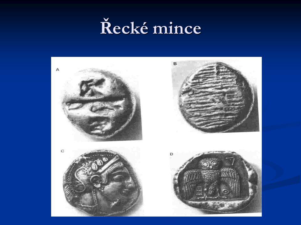 Řecké mince