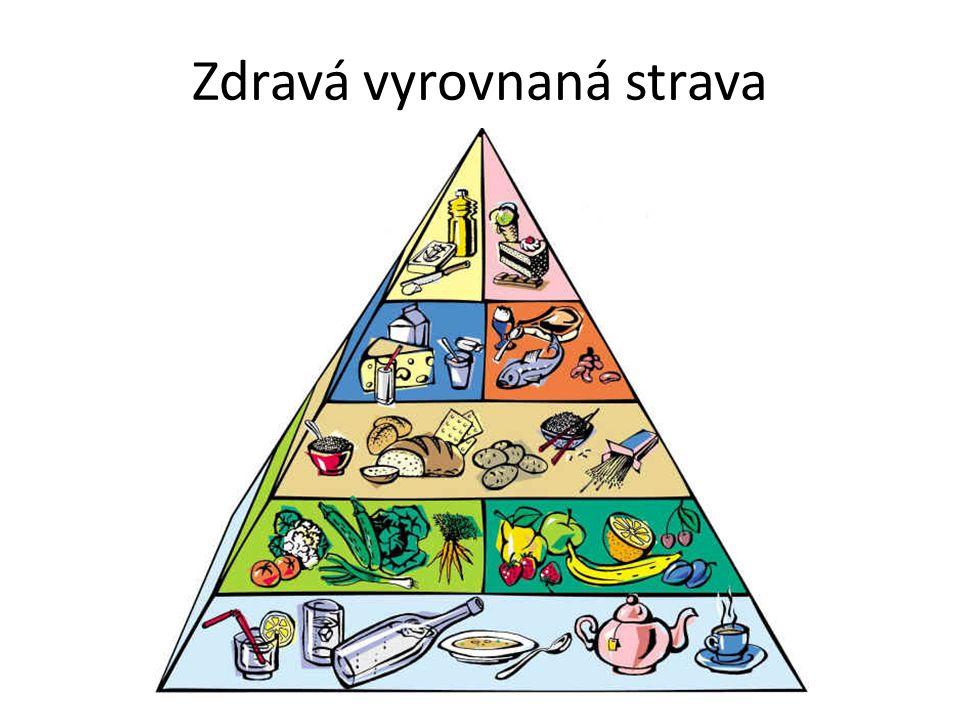 Zdravá vyrovnaná strava