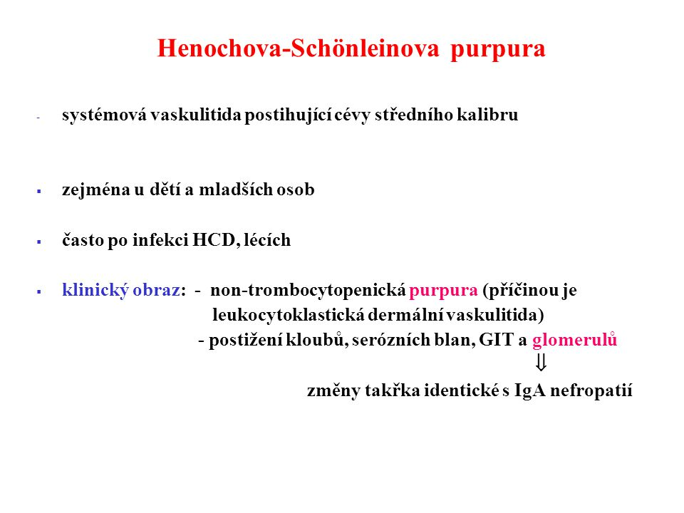 Henochova-Schönleinova purpura